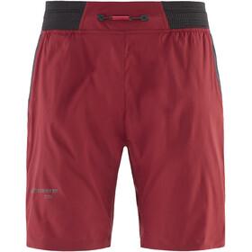 Klättermusen Nal Spodnie krótkie Mężczyźni czerwony